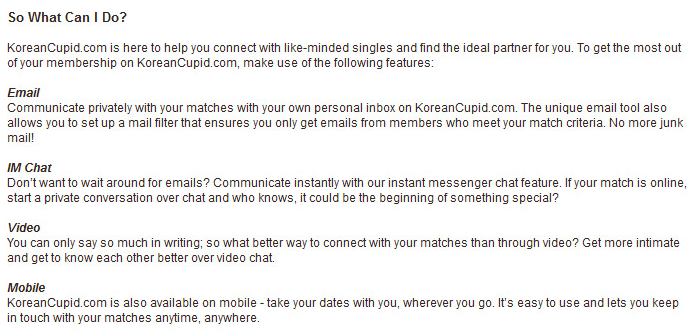 Japanese dating site cupid 5